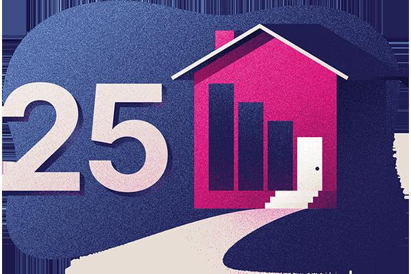 Protection hypothécaire décroissante sur 25 ans