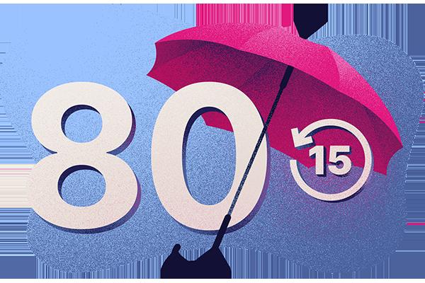 Protection jusqu'à 80 ans à primes ajustées après 15ans